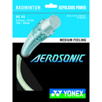Yonex Aerosonic Badminton String White - 10m Set