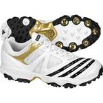 Adidas Mens Twenty2YDS Lite III Cricket Shoes - White/Gold