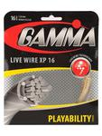 Gamma Live Wire XP 16 (1.32) Tennis String Set - Natural