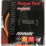 Ashaway Rogue Duo Hybrid Tennis String Set - Orange/Black