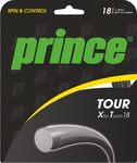 Prince Tour Xtra Touch 18 Tennis String - Sets (Silver or Black)