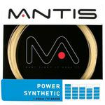 Mantis Power Synthetic Tennis String - Sets (Amber)