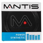 Mantis Power Synthetic Tennis String - Reels (Black)
