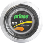 Prince Tour Xtra Spin 15 (1.35+) Tennis String - 200m Reels (Black or Orange)