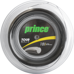 Prince Tour Xtra Touch 18 Tennis Strings - 200m Reels (Silver or Black)