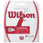Wilson Reaction 70 Badminton String Set - White