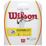 Wilson Dura Top Badminton String Set - White