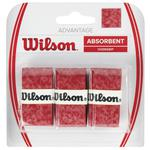 Wilson Advantage Overgrips (Pack of 3) - Red