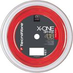 Tecnifibre X-One Biphase 1.18mm 200m Squash String Reel - Red