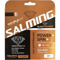 Salming Black Diamond Squash String Set - Black