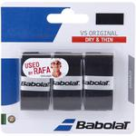 Babolat VS Original Overgrips (Pack of 3) - Black