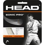 Head Sonic Pro Tennis String Set - White