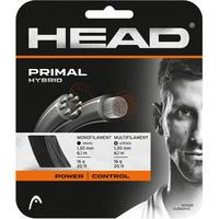 Head Primal Hybrid Tennis String Set - Black & Grey