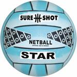 Sure Shot Star Netball - Blue (Choose Size)