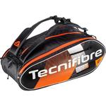 Tecnifibre Air Endurance 12 Racket Bag - Black/Orange