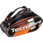 Tecnifibre Air Endurance 9 Racket Bag - Black/Orange
