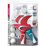 Cornilleau Tacteo Composite Duo Set - Turquoise/Red