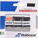 Babolat Pro Tacky Overgrips (3 Pack) - Black
