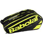 Babolat Pure 12 Racket Bag - Black/Fluorescent Yellow