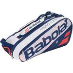 Babolat French Open Pure 6 Racket Bag - White/Blue