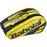 Babolat Pure Aero 12 Racket Bag - Yellow/Black