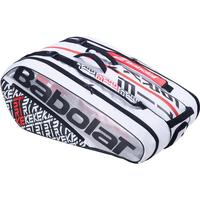 Babolat Pure Strike 12 Racket Bag - White/Red