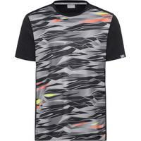 Head Boys Slider T-Shirt - Black Camo