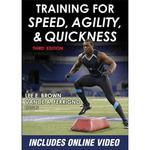 Training for Speed, Agility, and Quickness: 3rd Edition  - Paperback Book