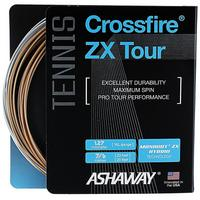 Ashaway Crossfire ZX Tour Hybrid Tennis String Set