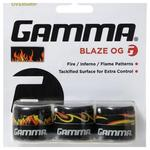 Gamma Blaze Overgrip - Black/Inforno Red