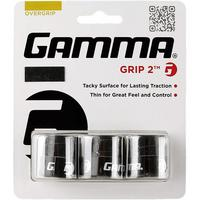 Gamma Grip 2 Overgrip (3 Pack) - Black