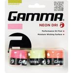 Gamma Neon Dri Overgrip - Pink/Yellow/Orange