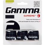 Gamma Supreme Overgrips (Pack of 3) - Black