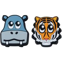 Zoo Dampeners (Pack of 2) - Hippo/Tiger