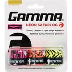 Gamma Neon Safari Overgrip - Pink/Orange/Yellow