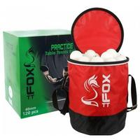 Fox Practice Table Tennis Balls & Bag - Pack 120 balls
