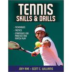 Tennis Skills & Drills - Paperback Book