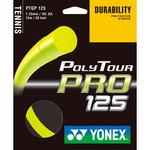 Yonex PolyTour Pro 125 Tennis String Set - Flash Yellow