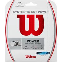Wilson Synthetic Gut Power Tennis String Set - Blue