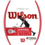 Wilson Fierce CX Badminton String Set - White