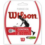 Wilson Fierce CX Badminton String Set - Lime Green