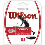Wilson Fierce CX Badminton String Set - Black