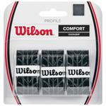 Wilson Profile Overgrips - Black (Pack of 3)