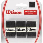 Wilson Advantage Overgrips (Pack of 3) - Black