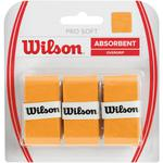 Wilson Soft Overgrips (Pack of 3) - Gold