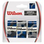 Wilson Pro Overgrips (Pack of 3) - Blue Camo