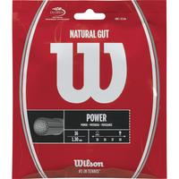 Wilson Natural Gut Tennis String Set