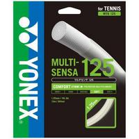 Yonex Multi-Sensa 16L (1.25mm) 12m Tennis String Set - White