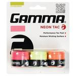 Gamma Neon Tacky Overgrip - Pink/Orange/Yellow