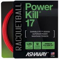 Ashaway Powerkill 17 Racketball String Set - Red